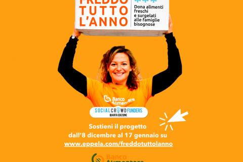 Banco Alimentare Toscana lancia il crowdfunding contro lo spreco