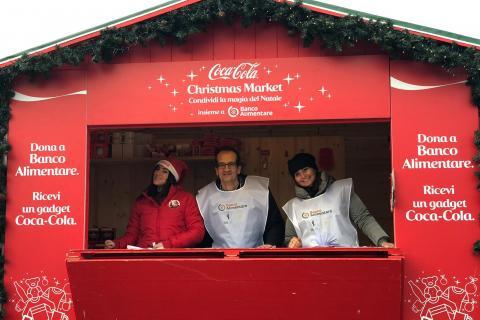 Coca Cola insieme a Banco Alimentare