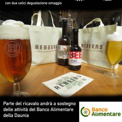 Una birra per il Banco Alimentare della Daunia