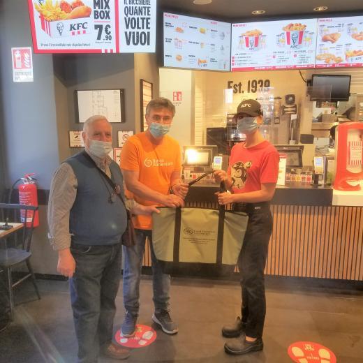 KFC e Banco Alimentare della Sicilia